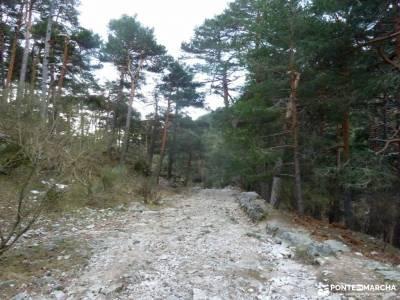 Hiking Calzada Romana de Cercedilla; ofertas vacaciones agosto schmidt sierra espuña nacimiento rio
